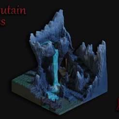 Moutain_Pass-2.jpg Télécharger fichier STL gratuit Mountain Pass - Soutien massif Impression gratuite ! • Plan pour impression 3D, BellForged