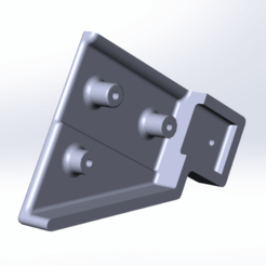Download 3D printing templates Reinforced Trunk Curtain Lock for UAZ Patriot 2015, kaa