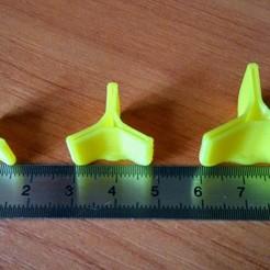 Descargar archivo 3D gratis Protector de gancho triple, kaa