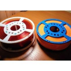 Télécharger fichier impression 3D Bobine maîtresse pour les écheveaux de filaments, kaa