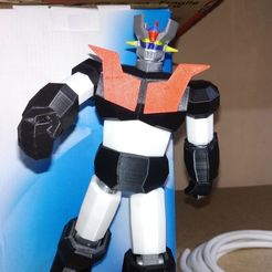 Download STL file Low Poly Mazinger Z V2, albertocano1983