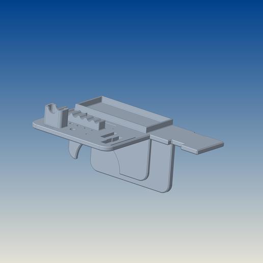Descargar archivos STL gratis Soporte de la herramienta Ender 3 Pro, bertrand1388