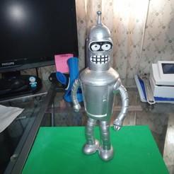 IMG_20200310_161800_7.jpg Download free STL file Bender futurama • 3D printable template, Gatober