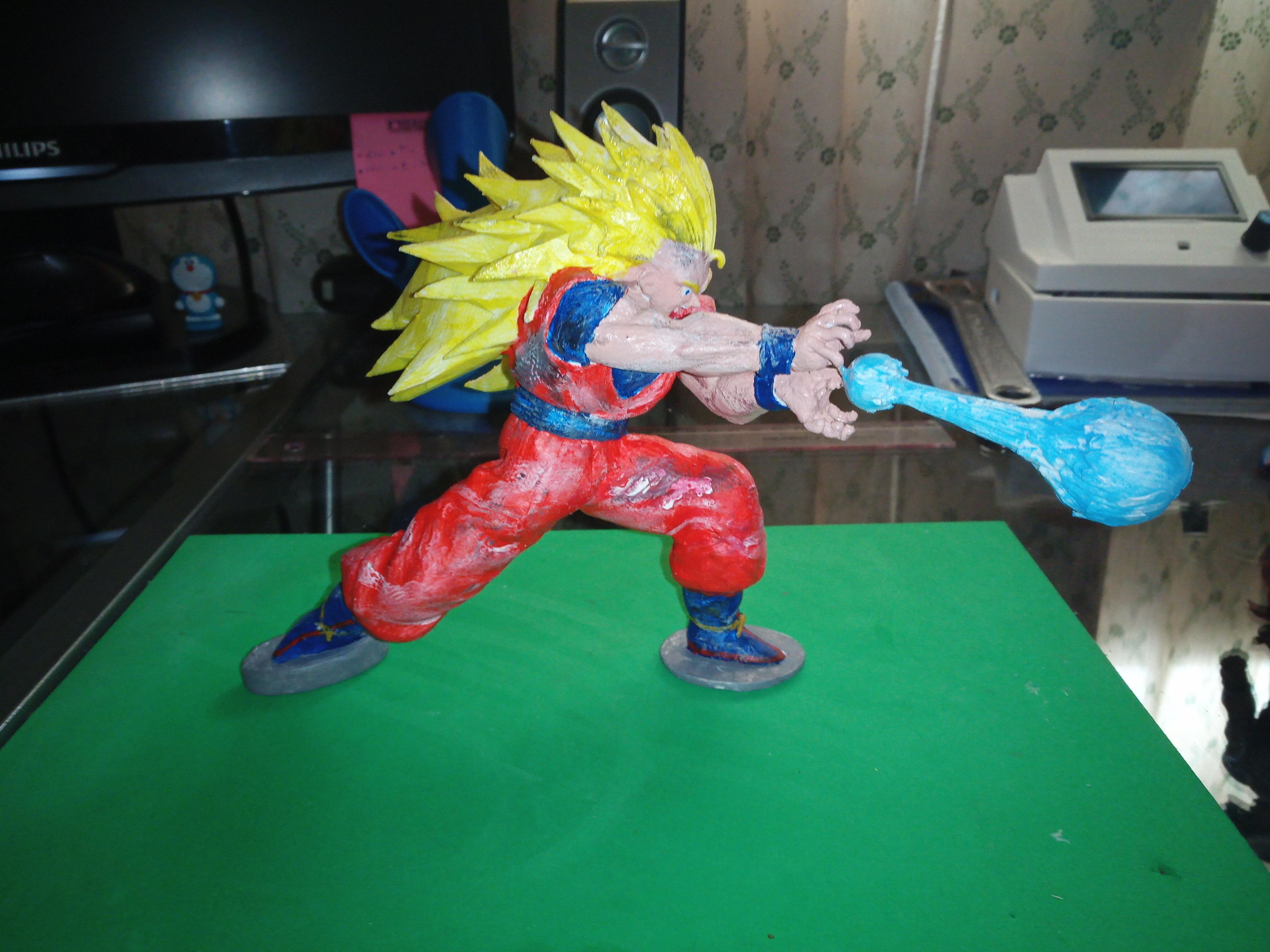 IMG_20200310_154443_9.jpg Télécharger fichier STL gratuit Goku Super Saiyan III Dragon Ball Z • Design pour imprimante 3D, Gatober