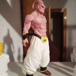 Download free 3D printer templates Super Buu Dragon Ball Z, Gatober