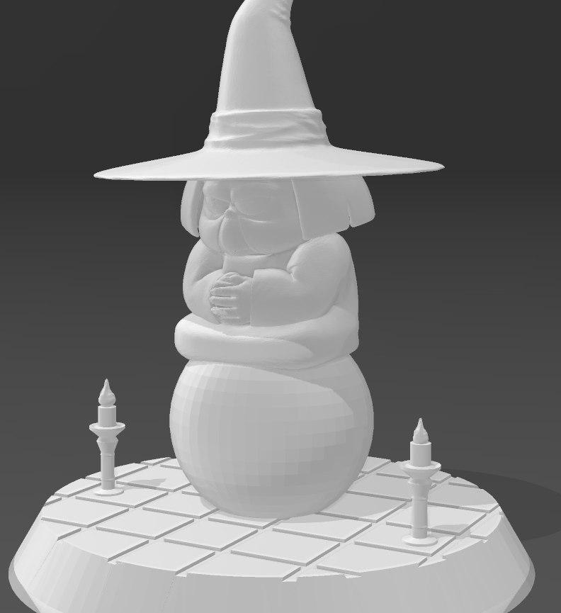baba_2.jpg Télécharger fichier STL gratuit Uranai Baba Dragon Ball Z • Design imprimable en 3D, Gatober