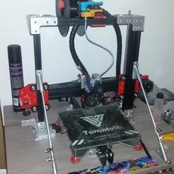 Download free STL file Eje X Tevo tarantula & Endstop Z • 3D printable model, Gatober