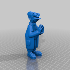 Télécharger fichier STL gratuit Farnsworth futurama Doctor • Objet imprimable en 3D, Gatober