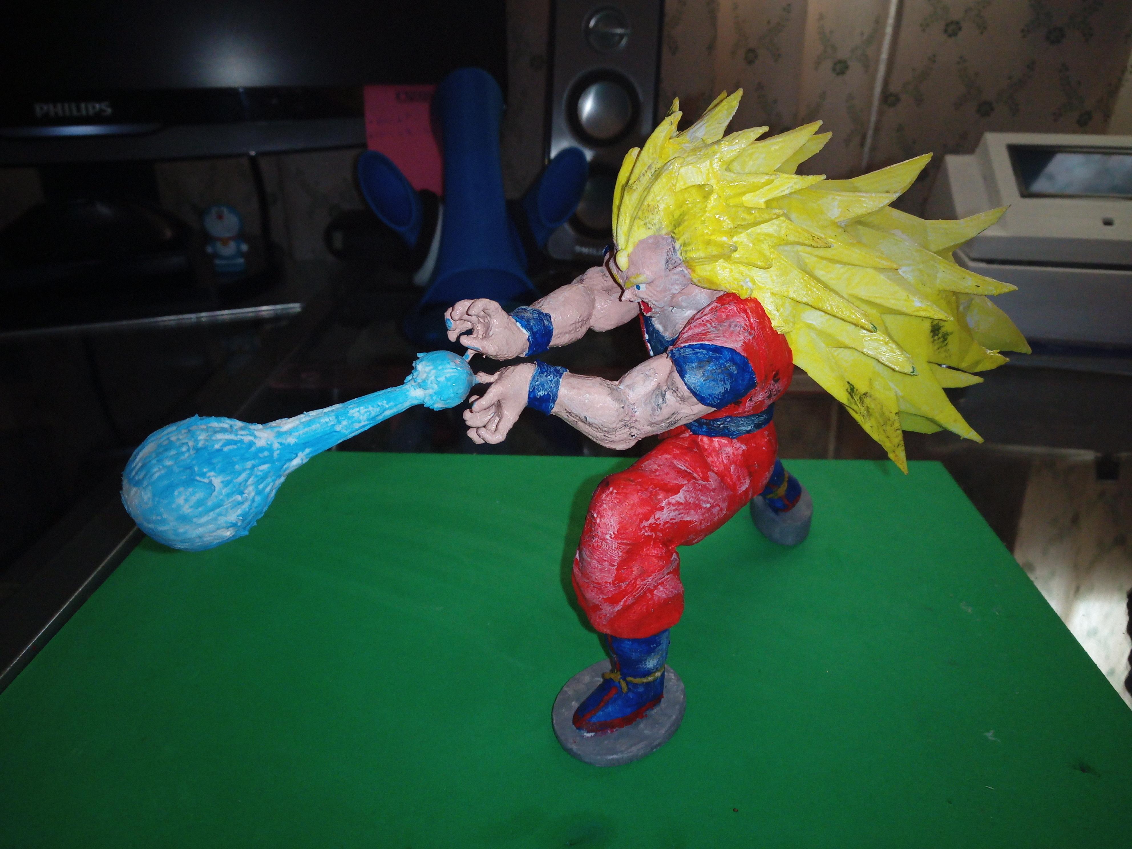 IMG_20200310_154418_5.jpg Download free STL file Goku Super Saiyan III Dragon Ball Z • Design to 3D print, Gatober