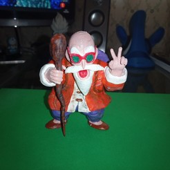 Download free 3D printing designs Master Roshi Dragon Ball Z, Gatober