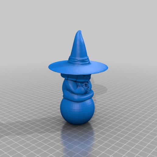 Baba.png Télécharger fichier STL gratuit Uranai Baba Dragon Ball Z • Design imprimable en 3D, Gatober