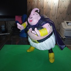 Download free 3D printing files Buu Dragon Ball Z, Gatober