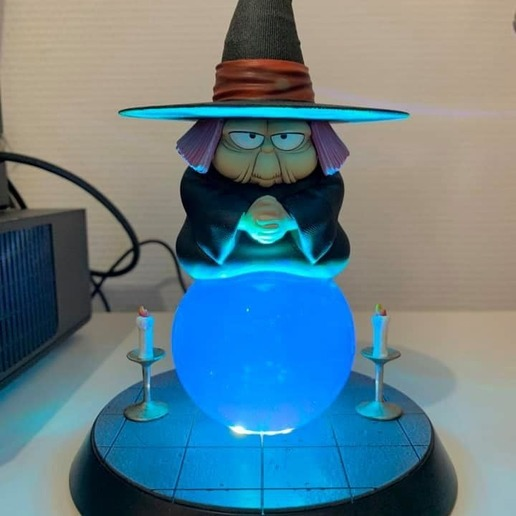 baba.jpg Télécharger fichier STL gratuit Uranai Baba Dragon Ball Z • Design imprimable en 3D, Gatober