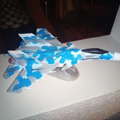 Download free 3D printer files Avión Caza Flanker su-37 Sukhoi, Gatober