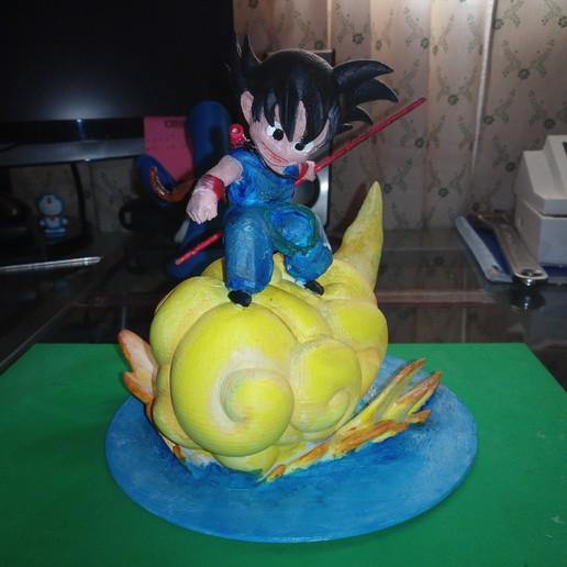 Télécharger fichier STL gratuit Kid Goku Dragon Bal Z • Modèle imprimable en 3D, Gatober