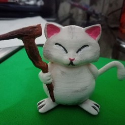 Download free 3D printer designs Gato Dios Korin Dragon Ball Z, Gatober
