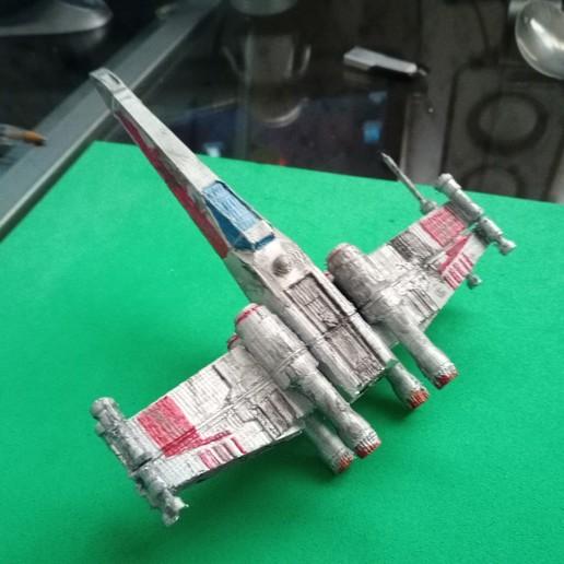 Télécharger fichier STL gratuit Star wars x wing fighter Nave espacial Star wars, Gatober