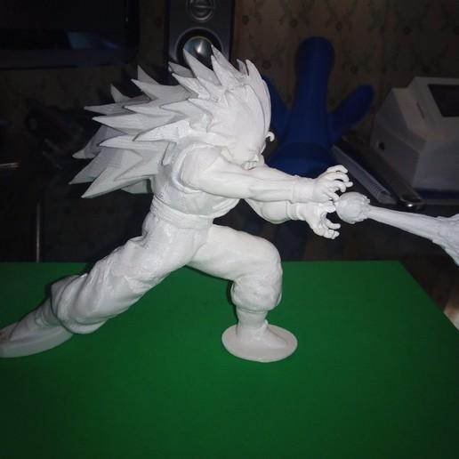 IMG_20200220_162825_5.jpg Download free STL file Goku Super Saiyan III Dragon Ball Z • Design to 3D print, Gatober