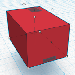 Download free 3D print files ESP8622 with battery and usb, dclark42560