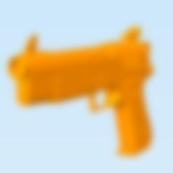Download 3D printer model Fortnite Handgun, dirq3d