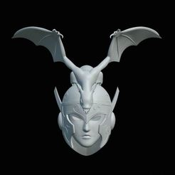 Ares-01.jpg Download STL file Saint Seiya - Pope Ares • 3D print template, dirq3d