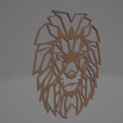 Download free 3D model Lion Decoration , joaomariorossitti
