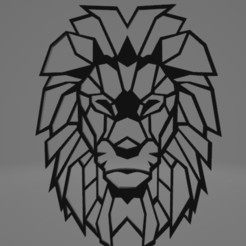 Download STL file Wall Decor Lion , joaomariorossitti