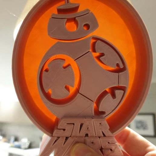 20200704_192003.jpg Télécharger fichier STL gratuit Support pour casque d'écoute BB8 Star Wars • Objet à imprimer en 3D, CheesmondN