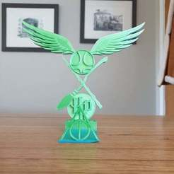 20200926_073734.jpg Download free STL file Harry Potter book or phone stand • Model to 3D print, CheesmondN