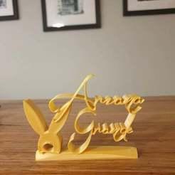 Download free 3D printer designs Ariana Grande Ornament, CheesmondN