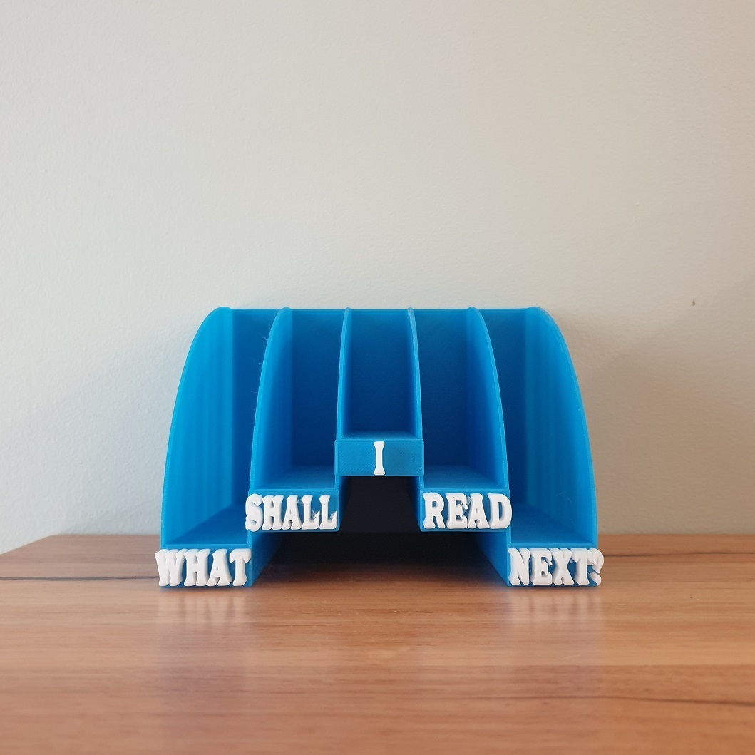 20201224_193848.jpg Download free STL file Bedside Book Stand • 3D printable template, CheesmondN
