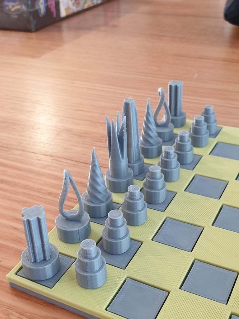 20200416_082906.jpg Download free STL file Chess set with storage box • 3D printing template, CheesmondN