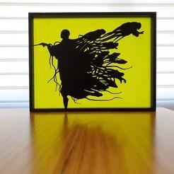 Download free STL file Voldemort Dementor Harry Potter Silhouette Art • Object to 3D print, CheesmondN