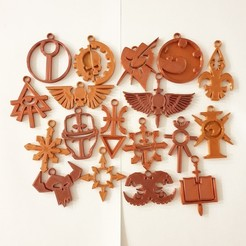 Download free STL file Warhammer 40k Keychains (18 factions) • 3D print object, CheesmondN