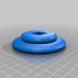 Bubble_base.png Télécharger fichier STL gratuit Support de casque à bulles • Modèle imprimable en 3D, CheesmondN