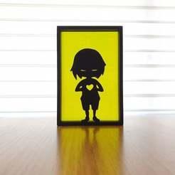 20201211_105004.jpg Télécharger fichier STL gratuit L'art de la silhouette • Design imprimable en 3D, CheesmondN