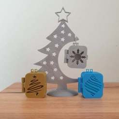 20201124_101933.jpg Download free STL file Christmas Tree Boxes • Object to 3D print, CheesmondN