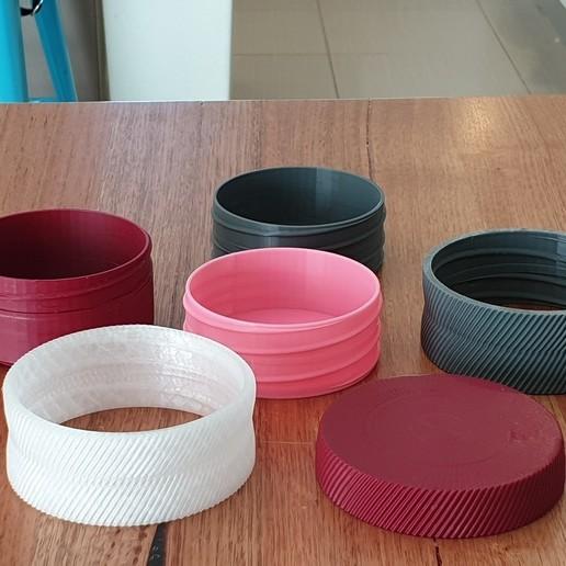 20200805_141408.jpg Download free STL file Modular snack pot, trinket box • 3D printer model, CheesmondN