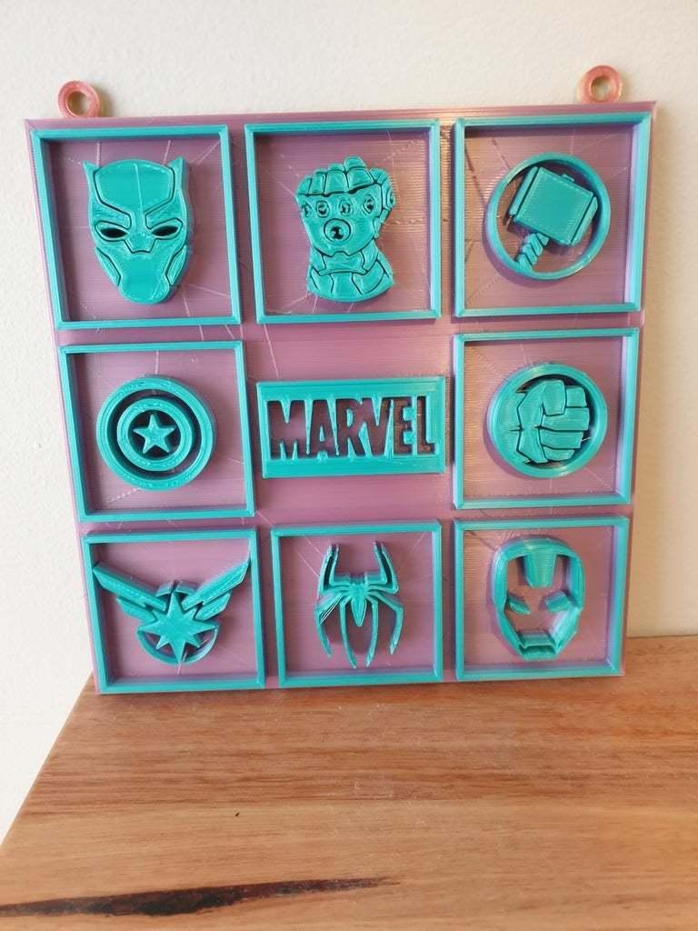 20200710_090739.jpg Télécharger fichier STL gratuit Photo Marvel • Modèle pour imprimante 3D, CheesmondN