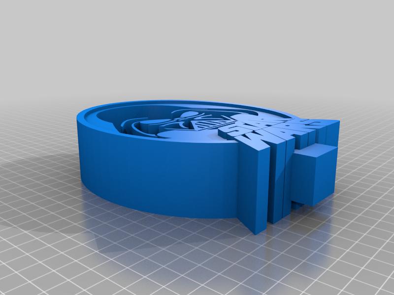 Top_extra_large.png Télécharger fichier STL gratuit Star Wars Dark Vador - Support pour casque d'écoute • Objet imprimable en 3D, CheesmondN