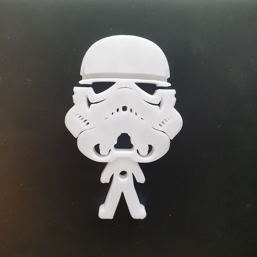 20200902_152704.jpg Télécharger fichier STL gratuit Porte-écouteurs Star Wars • Design pour impression 3D, CheesmondN