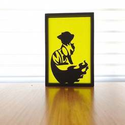 20201008_121848.jpg Télécharger fichier STL gratuit Art de la silhouette du chat • Objet pour impression 3D, CheesmondN