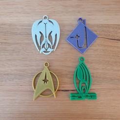 20200823_072740.jpg Download free STL file Star Trek keychain keyring • 3D printing object, CheesmondN