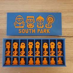 20201026_073831.jpg Download free STL file South Park Chess Set • 3D printing design, CheesmondN