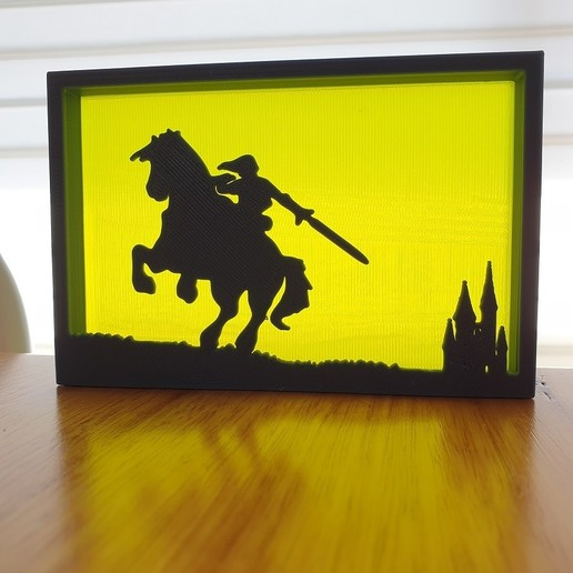20200903_122240.jpg Télécharger fichier STL gratuit Ornements de silhouette Zelda • Plan imprimable en 3D, CheesmondN
