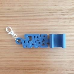 20200909_114308.jpg Download free STL file Star Wars keychain phone stand • 3D printer template, CheesmondN