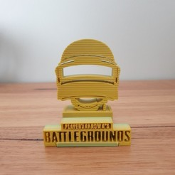 20200919_072510.jpg Download free STL file PUBG phone stand • 3D printing model, CheesmondN