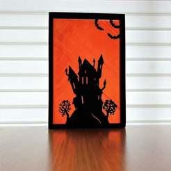 c20201009_130648.jpg Télécharger fichier STL gratuit Silhouette d'Halloween grande • Modèle pour imprimante 3D, CheesmondN