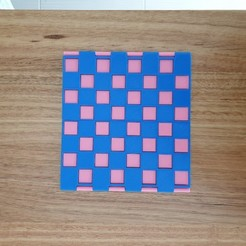 Download free 3D printing files Hinged slimline chess board, CheesmondN