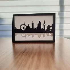 London.jpg Download free STL file Silhouette City Skylines (several designs) • 3D printable template, CheesmondN